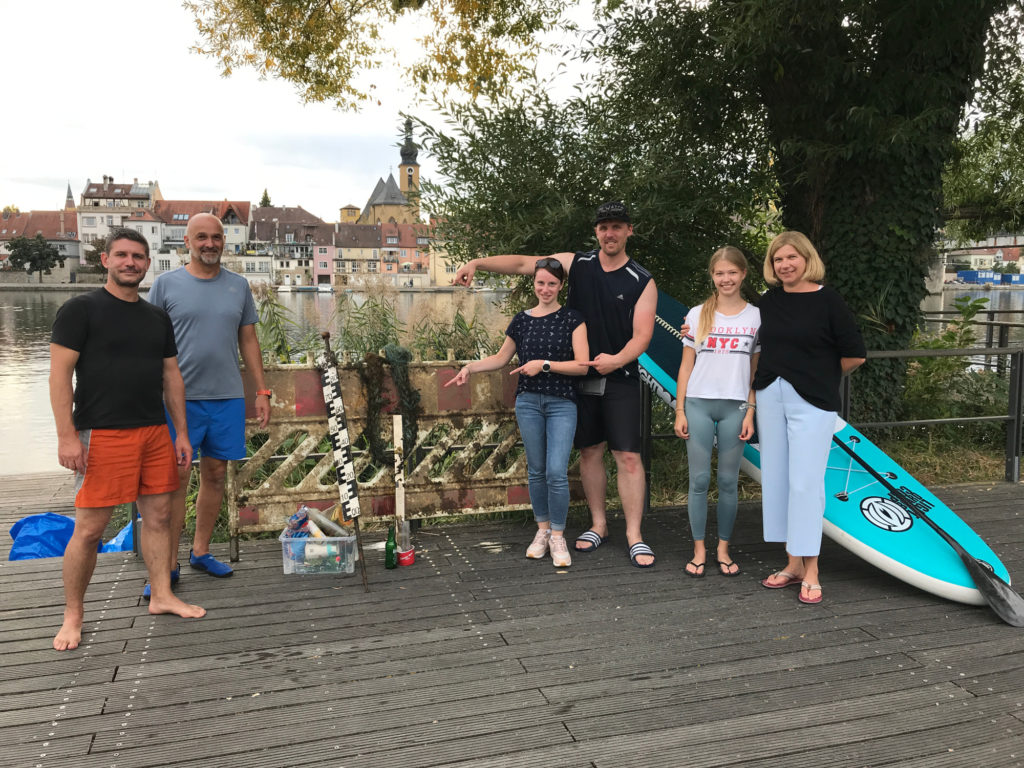 Positives Fazit bei Clean your river 2